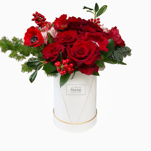 The Florté - Winter Florals, Bloom Box