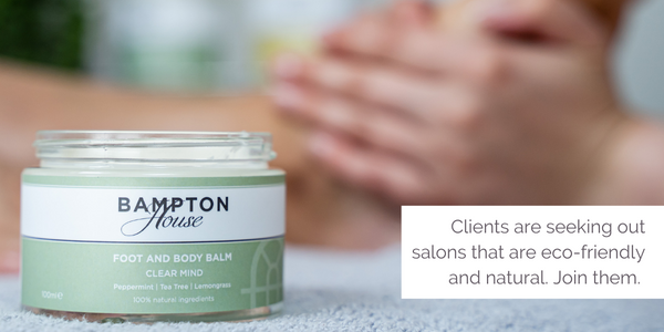 Clients are seeking out salons that are eco-friendly and natural. Join them.