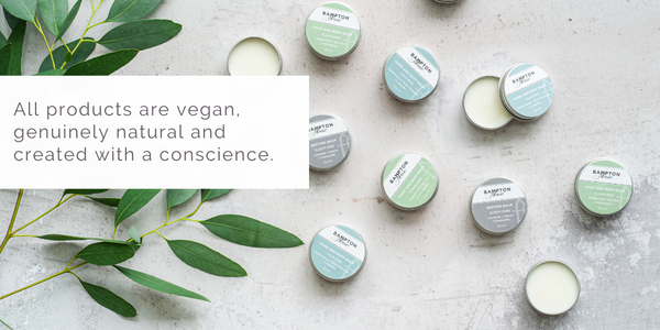 All products are vegan,  genuinely natural and  created with a conscience.