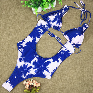 Dye Two Piece Swimsuit