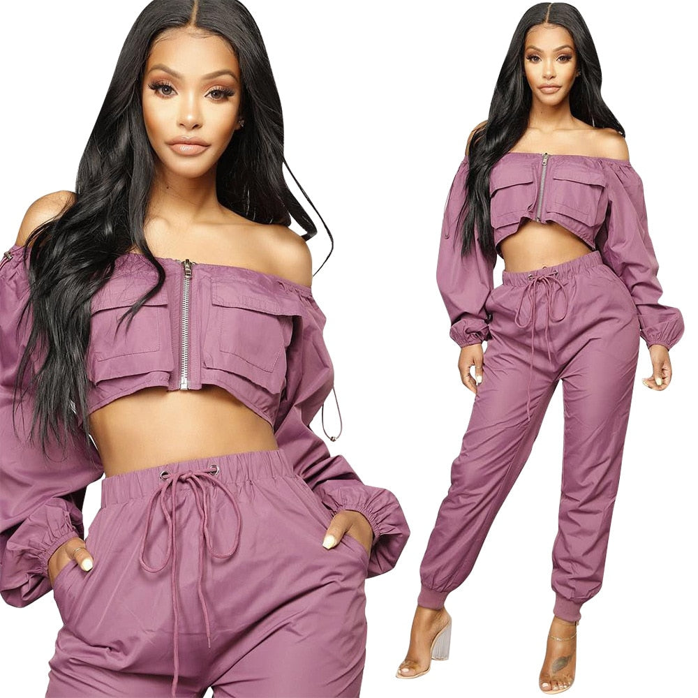 Casual Two Piece Jumpsuit