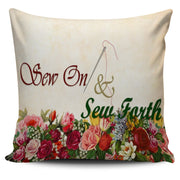 Sew On & Sew Forth Custom Pillow Cover