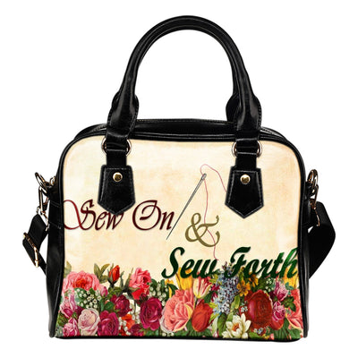 Sew On And Sew Forth - Women's Shoulder Bag - Create Your Own Custom Apparel T-Shirts Home Decor Lifestyle The Harry Potter Store