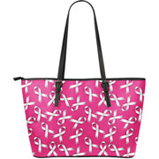 End Violence Against Women Large Leather Tote Bag