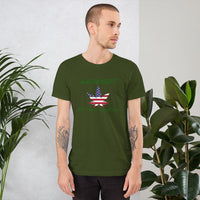 6630507 - It's Time America - Bella + Canvas - Short-Sleeve Unisex T-Shirt - Unique Gifts Custom T-Shirt Shop Blankets Apparel