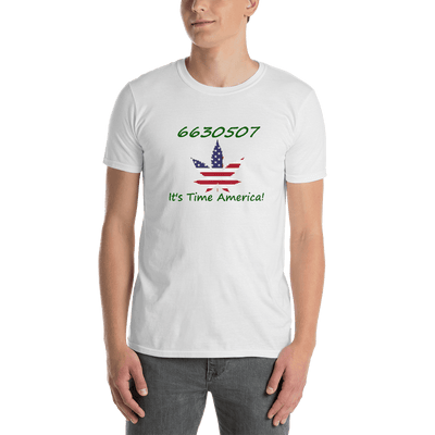 6630507 - It's Time America - Gildan Short-Sleeve Unisex T-Shirt - Unique Gifts Custom T-Shirt Shop Blankets Apparel