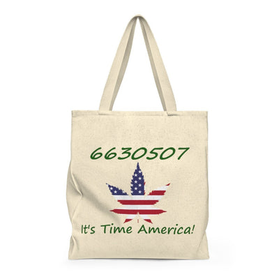 6630507 - It's Time America - Shoulder Tote Bag - Roomy - Unique Gifts Custom T-Shirt Shop Blankets Apparel