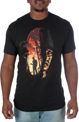 A Nightmare On Elm Street Freddy Krueger T-Shirt For Men - Unique Gifts Custom T-Shirt Shop Blankets Apparel