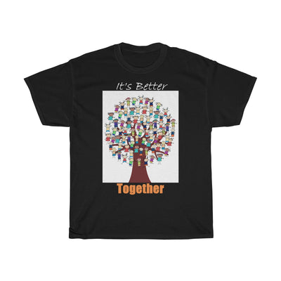 It's Better Together - Full Inclusion Unisex Heavy Cotton Tee