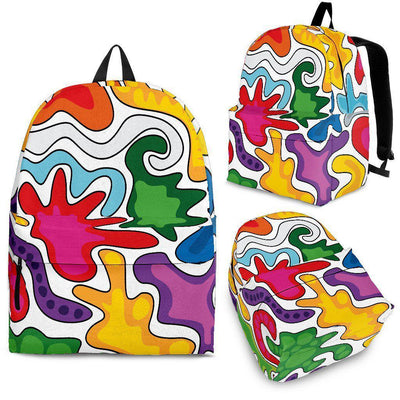 Abstract Backpack - Unique Gifts Custom T-Shirt Shop Blankets Apparel