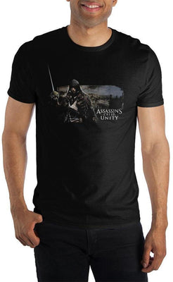AC Assassin's Creed Unity Men's T-Shirt Tee Shirt Gift - Create Your Own Custom Apparel T-Shirts Home Decor Lifestyle The Harry Potter Store
