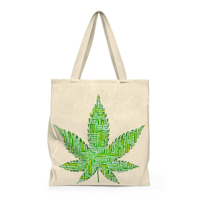 All Natural Leaf - Shoulder Tote Bag - Roomy - Create Your Own Custom Apparel T-Shirts Home Decor Lifestyle The Harry Potter Store