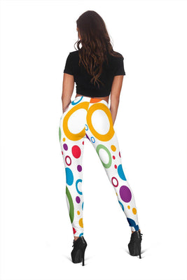 Around In Circles - Women's Leggings - Create Your Own Custom Apparel T-Shirts Home Decor Lifestyle The Harry Potter Store