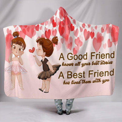 Best Friends Hooded Blanket - Create Your Own Custom Apparel T-Shirts Home Decor Lifestyle The Harry Potter Store