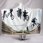 Bicycle Hooded Blanket - Create Your Own Custom Apparel T-Shirts Home Decor Lifestyle The Harry Potter Store