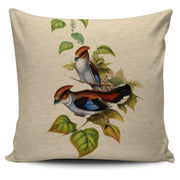 Birds Pillow Cover - Create Your Own Custom Apparel T-Shirts Home Decor Lifestyle The Harry Potter Store