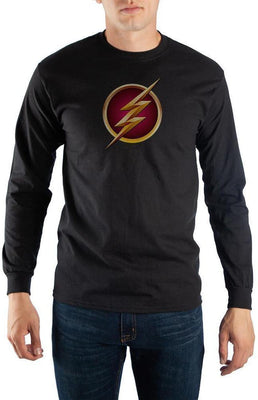 Black Long Sleeve Flash T-Shirt - Create Your Own Custom Apparel T-Shirts Home Decor Lifestyle The Harry Potter Store