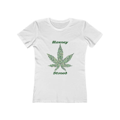 Blarney Stoned - St. Patrick's Day - Women's The Boyfriend Tee - Create Your Own Custom Apparel T-Shirts Home Decor Lifestyle The Harry Potter Store