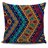 Blue Boho Patterned Pillow Cover - Create Your Own Custom Apparel T-Shirts Home Decor Lifestyle The Harry Potter Store