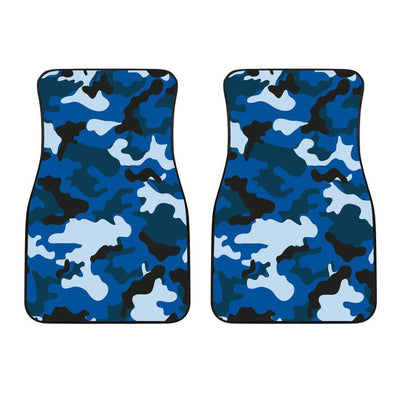 Blue Camouflage Car Floor Mats - Create Your Own Custom Apparel T-Shirts Home Decor Lifestyle The Harry Potter Store