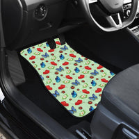 Butterfly Garden Car Floor Mats 4 Set - Create Your Own Custom Apparel T-Shirts Home Decor Lifestyle The Harry Potter Store