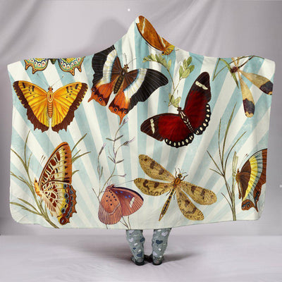 Butterfly Hooded Blanket - Create Your Own Custom Apparel T-Shirts Home Decor Lifestyle The Harry Potter Store