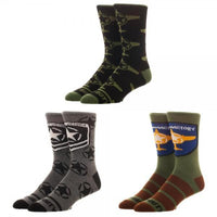 Call of Duty 3 Pair Socks - Create Your Own Custom Apparel T-Shirts Home Decor Lifestyle The Harry Potter Store