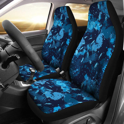 Camo Car Seat Covers Blue - Create Your Own Custom Apparel T-Shirts Home Decor Lifestyle The Harry Potter Store