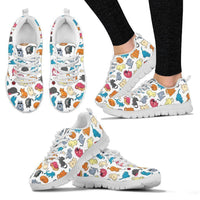 Cats Women's Sneakers - Create Your Own Custom Apparel T-Shirts Home Decor Lifestyle The Harry Potter Store