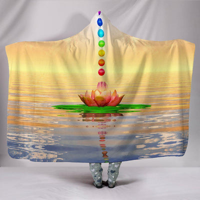 Chakra Hooded Blanket - Create Your Own Custom Apparel T-Shirts Home Decor Lifestyle The Harry Potter Store