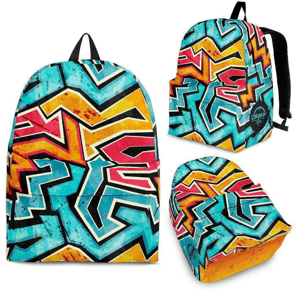Crank Style Graffiti Backpack - Create Your Own Custom Apparel T-Shirts Home Decor Lifestyle The Harry Potter Store