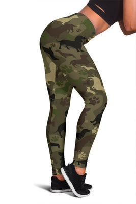 Dachshund Camo Leggings for Lovers of Dachshunds - Create Your Own Custom Apparel T-Shirts Home Decor Lifestyle The Harry Potter Store