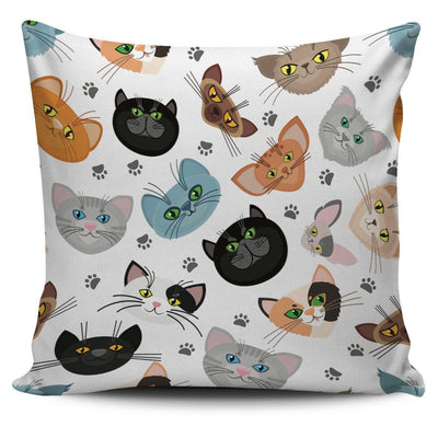 Different Cats Pillow Cover - Create Your Own Custom Apparel T-Shirts Home Decor Lifestyle The Harry Potter Store