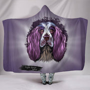 English Springer Spaniel Hooded Blanket - Dogs - Create Your Own Custom Apparel T-Shirts Home Decor Lifestyle The Harry Potter Store