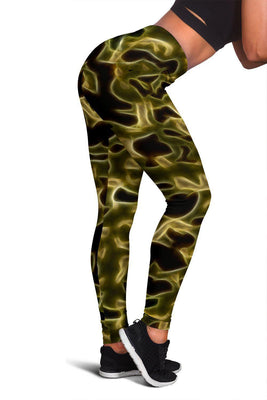 Fractal Camo Leggings Green for Camouflage Lovers - Create Your Own Custom Apparel T-Shirts Home Decor Lifestyle The Harry Potter Store