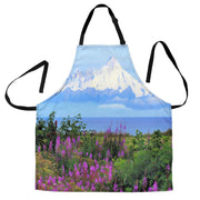 For Purple Mountain's Majesty - BBQ Grill Master Apron