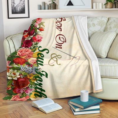 Sew On And Sew Forth Premium Blankets - 3 Sizes