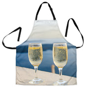 Champagne Toast BBQ Grill Master Apron