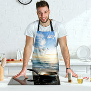 A Day At The Beach BBQ Grill Master Apron