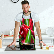Chili Habanero Peppers BBQ Grill Master Apron
