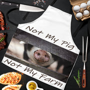 Not My Pig - Not My Farm Men's BBQ Apron - Create Your Own Custom Apparel T-Shirts Home Decor Lifestyle The Harry Potter Store