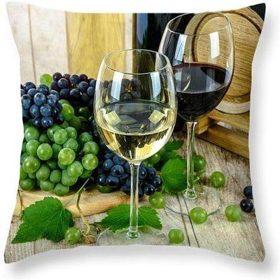 Fruit Of The Vine - Throw Pillow - Create Your Own Custom Apparel T-Shirts Home Decor Lifestyle The Harry Potter Store