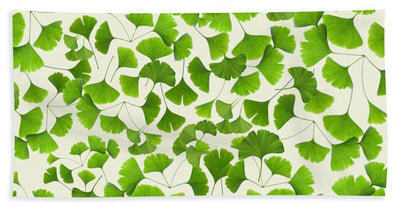 Ginkgo Leaves - Beach Towel - Create Your Own Custom Apparel T-Shirts Home Decor Lifestyle The Harry Potter Store