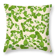 Ginkgo Leaves In Summer - Throw Pillow - Create Your Own Custom Apparel T-Shirts Home Decor Lifestyle The Harry Potter Store