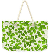Ginkgo Leaves - Weekender Tote Bag - Create Your Own Custom Apparel T-Shirts Home Decor Lifestyle The Harry Potter Store