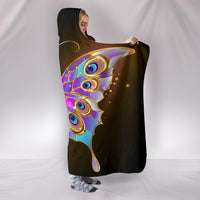 Golden Butterfly Hooded Blanket - Create Your Own Custom Apparel T-Shirts Home Decor Lifestyle The Harry Potter Store