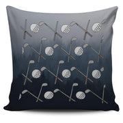 Golf Design Pillow Case - Black - Grey - Create Your Own Custom Apparel T-Shirts Home Decor Lifestyle The Harry Potter Store