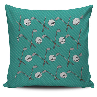 Golf Design Pillow Case - Teal - Create Your Own Custom Apparel T-Shirts Home Decor Lifestyle The Harry Potter Store