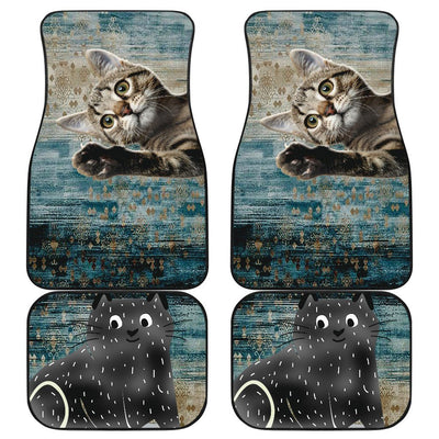 Grey kitten cute Car Floor Mat - Create Your Own Custom Apparel T-Shirts Home Decor Lifestyle The Harry Potter Store