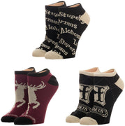 Harry Potter Ankle Socks 3 Pack Harry Potter Accessories Harry Potter Socks Harry Potter Fashion Harry Potter Gift - Create Your Own Custom Apparel T-Shirts Home Decor Lifestyle The Harry Potter Store